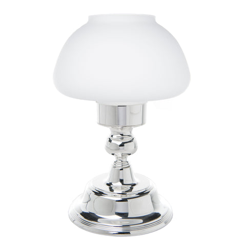 Silver Mushroom Candle Lamp
