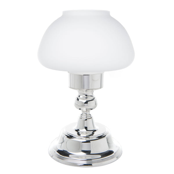 Mushroom Lamp Silver - The Amazing Flameless Candle