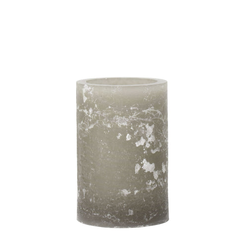 Grey Artisan Wax Luminaries