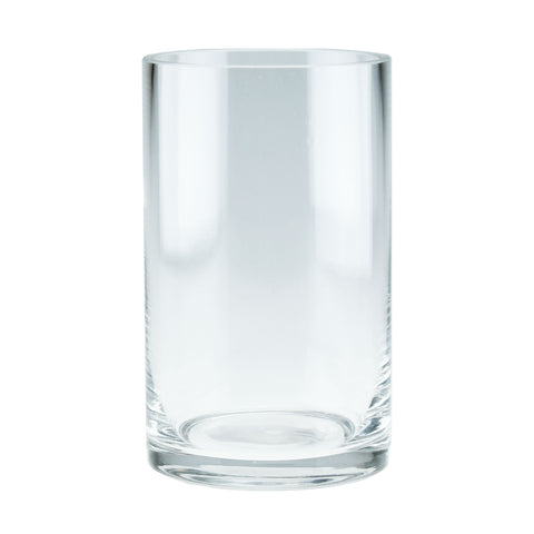 Clear Glass Candle Holder Vase