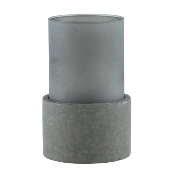 Greystone Glass Candle Holder