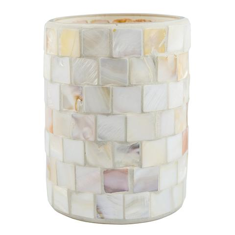 Mother of Pearl Candle Holder Vase (Case of 6)