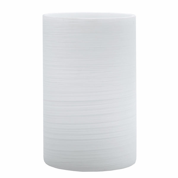 White Brushed Glass (Case of 6) - The Amazing Flameless Candle