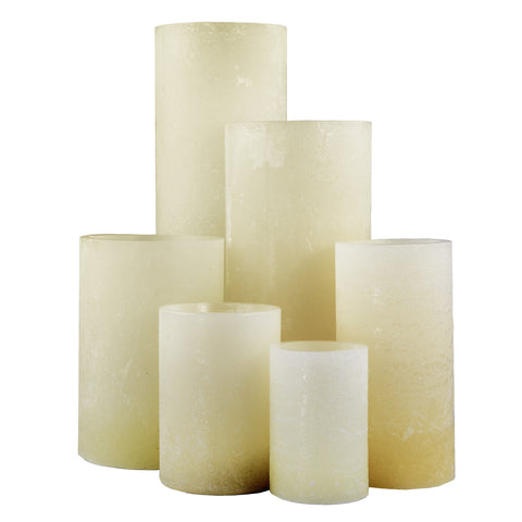 Ivory Artisan Wax Luminaries (Case of 6)
