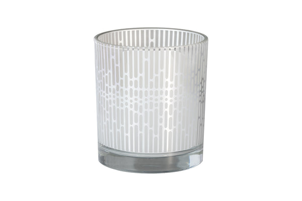 Modern Vertical Lines - The Amazing Flameless Candle