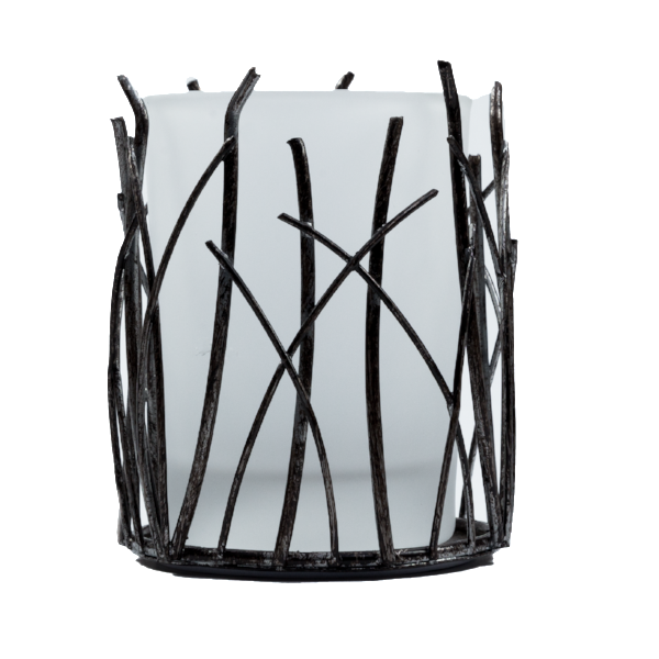 Twigs, Frosted Glass (Case of 6) - The Amazing Flameless Candle