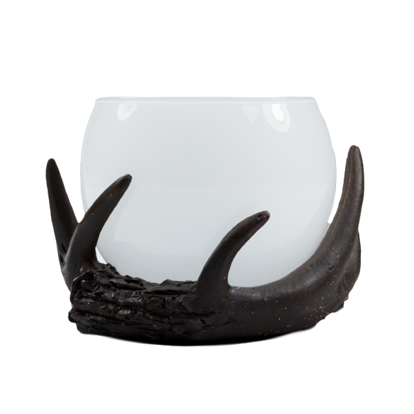 Antler Cup, Frosted (Case of 6) - The Amazing Flameless Candle