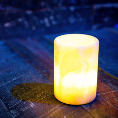 Onyx Stone Candle Holder - The Amazing Flameless Candle