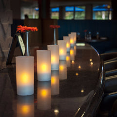 Cafe Series Rechargeable Tea Light Candles