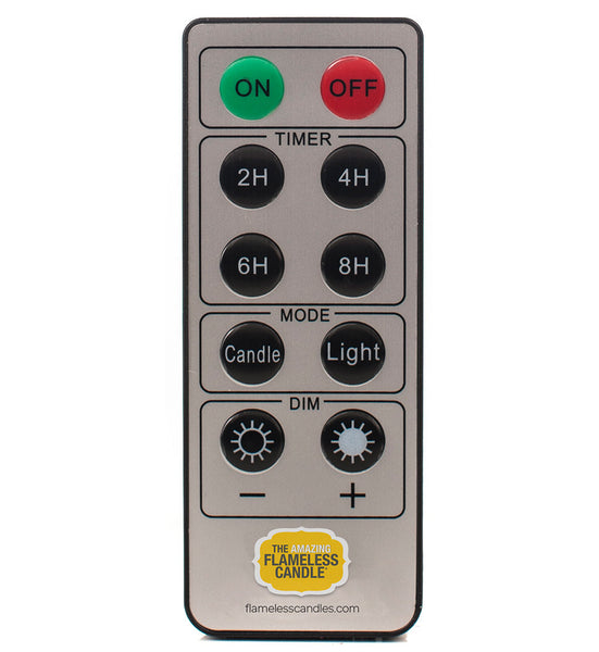Flameless Candle Remote Control The Amazing Flameless Candle