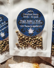 Load image into Gallery viewer, Magic Bullet x Wulf Compliant Hemp Seeds - 50 Pack