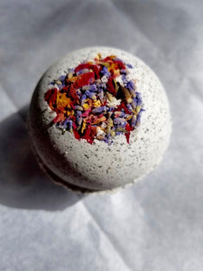 CBD Bath Bomb 100mg - Black Lava Salt