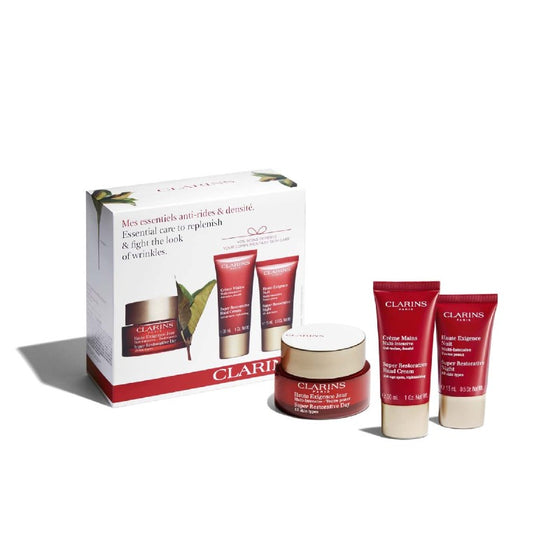Clarins Essential Care to Replenish & Fight the Look of Wrinkles
