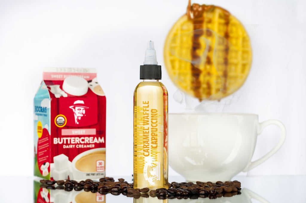 The Sauce LA Monthly Spotlight: Caramel Waffle Cappuccino | Best Coffee Vape Juice | The Pier