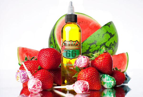 The Sauce LA Monthly Spotlight: Get Your Kicks | Best Strawberry Bubblegum Vape Juice | Route 66