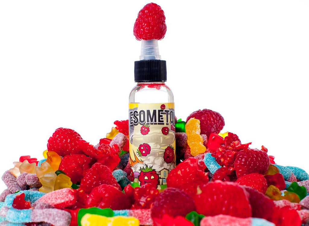 The Sauce LA Product Spotlight: Raspberry Rapture | Best Raspberry Gummy Bear Vape Juice | Awesometown