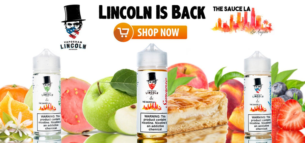 Vaporham Lincoln eJuice - Presidential Flavor Collection
