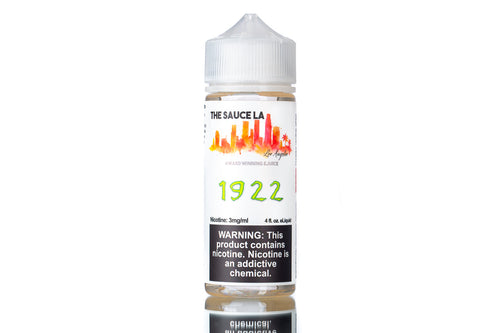 1922 by The Sauce LA | Best Energy Drink Flavor Vape Juice 2020