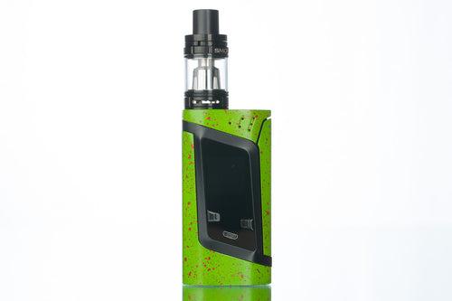 SMOK Alien 220w Starter Kit - Grass Green With Red Spray