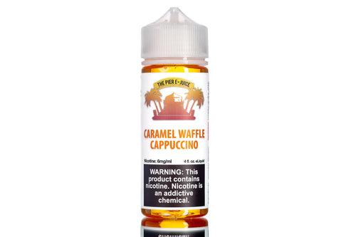 Caramel Waffle Cappuccino - Best Coffee eJuice 2019 | The Pier