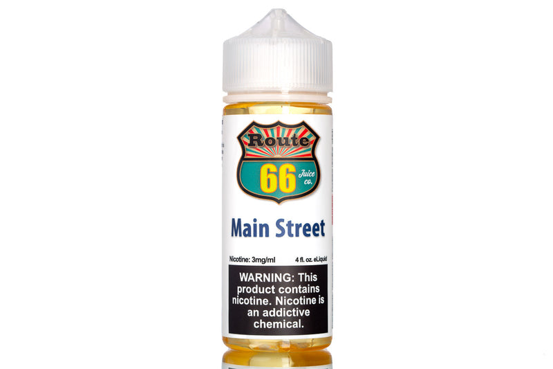 Main Street - Best Apple Pie eJuice 2020 | Route 66