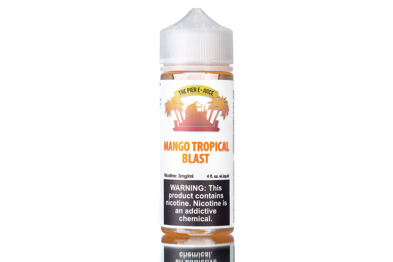 Mango Tropical Blast by The Pier | Best Mango eJuice 2020 - The Sauce LA