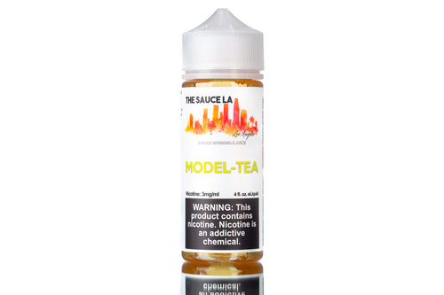 Model Tea by The Sauce LA | Best Peach Tea eJuice 2020 - The Sauce LA