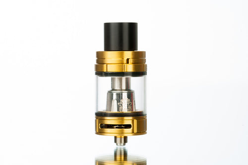 SMOK TFV8 Big Baby Beast Sub Ohm Vape Tank - Gold With Lustrous Anodized Finish