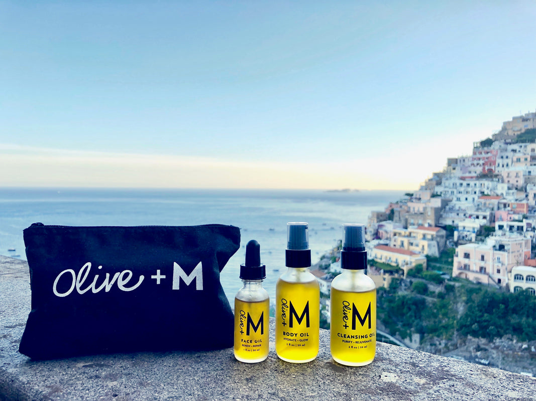Olive + M was created from the belief that what you put on your body is just as important as what you put in your body.