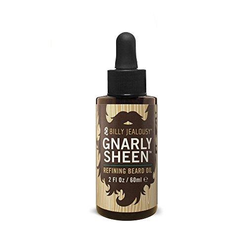 billy jealousy gnarly sheen refining beard oil, 2 fl. oz.