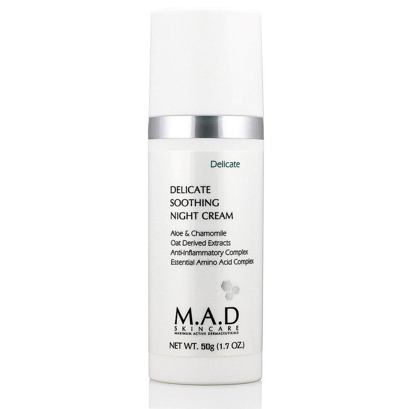 M.A.D SKINCARE Delicate Soothing Night Cream 1.7oz