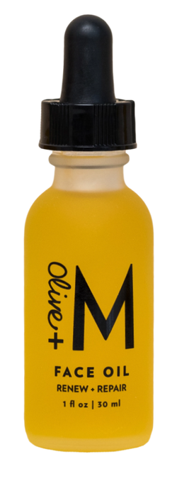 Olive + M All Natural Renew + Repair Face Oil (1 fl oz)