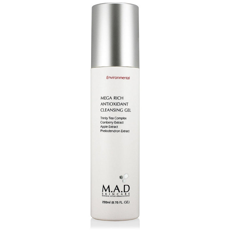 M.A.D SKINCARE Mega Rich Antioxidant Cleansing Gel 200ml