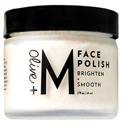 Olive + M All Natural Brighten + Smooth Face Polish (2 fl oz)