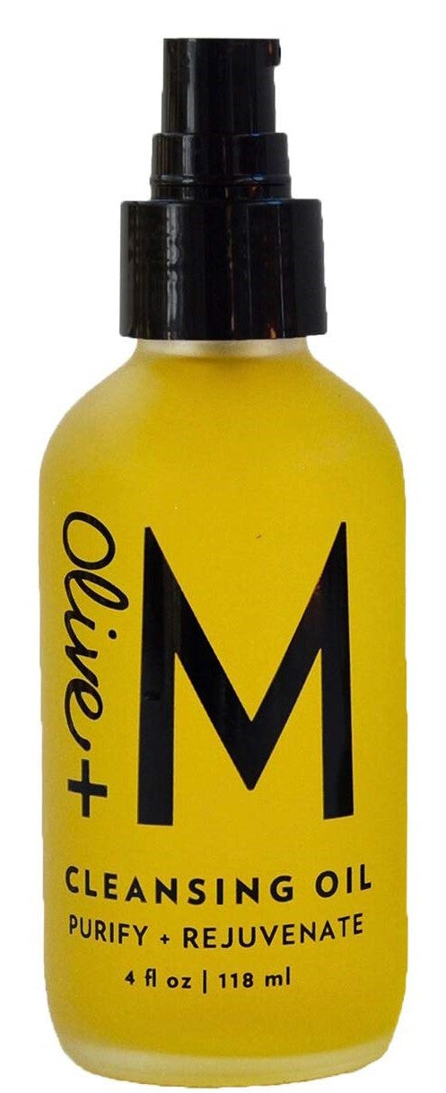Olive + M All Natural Purify + Rejuvenate Cleansing Oil (4 fl oz)