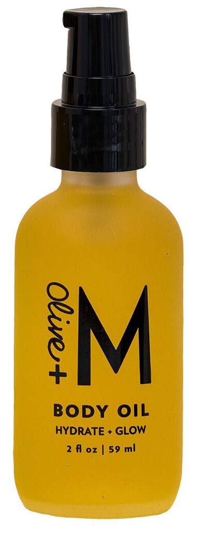 Olive + M All Natural Hydrate + Glow Body Oil (2 fl oz)