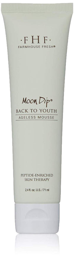 Farmhouse Fresh Moon Dip Back to Youth Body Mousse - Travel Tube (2 oz )