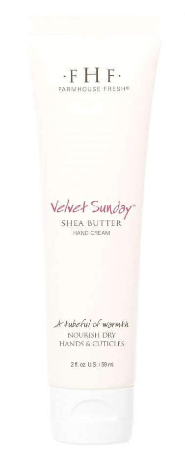 Farmhouse Fresh Velvet Sunday Shea Butter Hand Cream Tubes (2 oz )