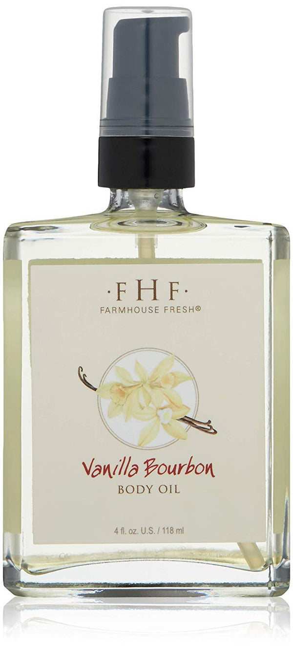 Farmhouse Fresh Vanilla Bourbon Body Oil (4 oz )