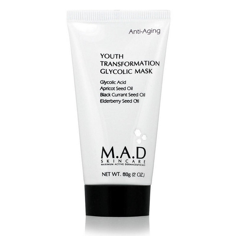 M.A.D SKINCARE Youth Transformation Glycolic Mask 2oz