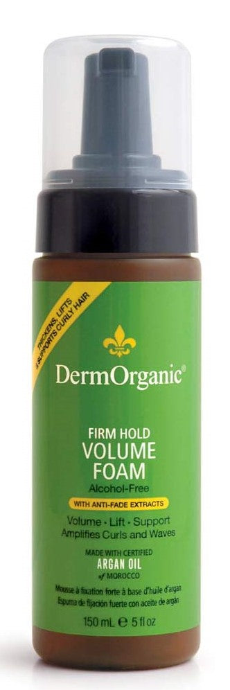 DermOrganic Firm Hold Volume Foam 70% Organic (5 oz)
