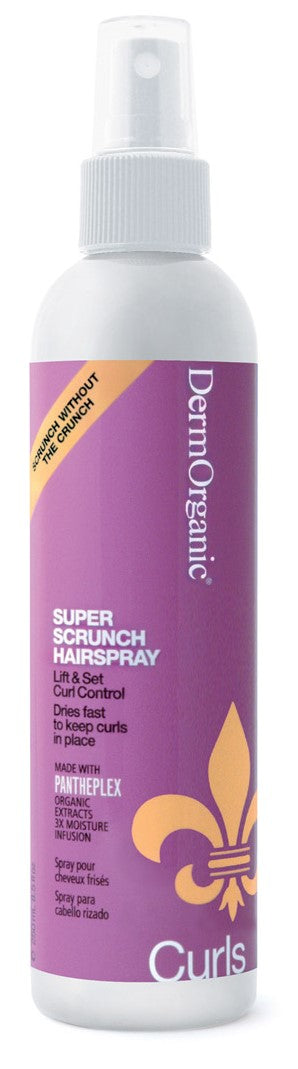 DermOrganic Curls Super Scrunch Hairspray 55% (8.5 oz)