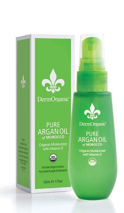 DermOrganic Pure Argan Oil 100% Organic (1.7 oz)