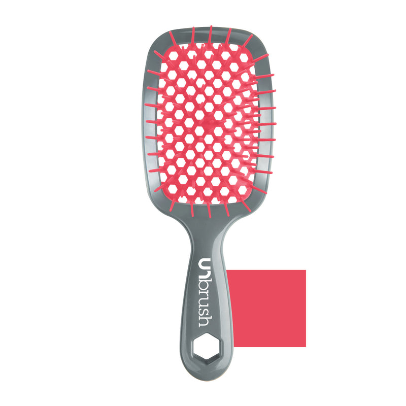 FHI Heat Unbrush Detangle Brush - (Gray Handle/Peach)