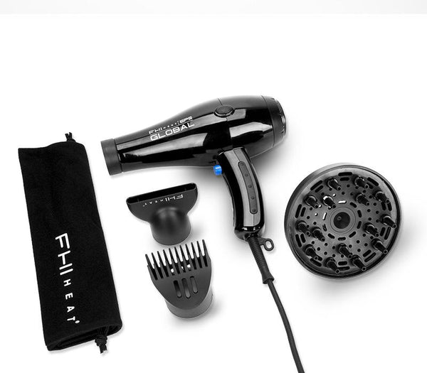 FHI Heat Elite Pro Series Global Dual Volt Hair Dryer