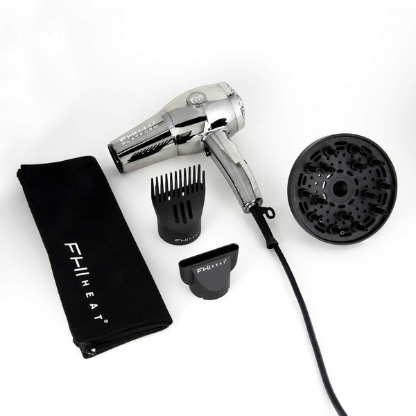 FHI Heat Platform Pro 1900 Chrome Nano Lite Hair Dryer