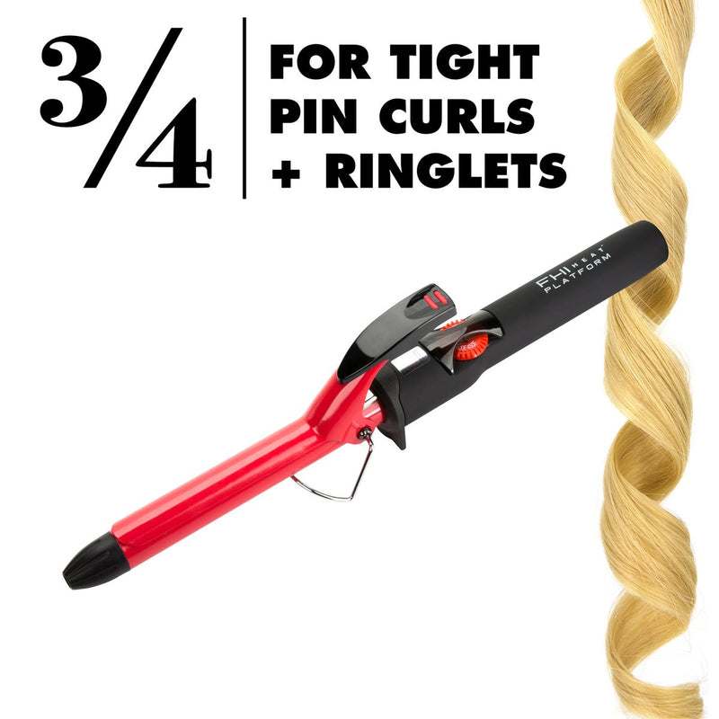 "FHI Heat Platform Bounce Professional Curling Iron - (3/4"")"