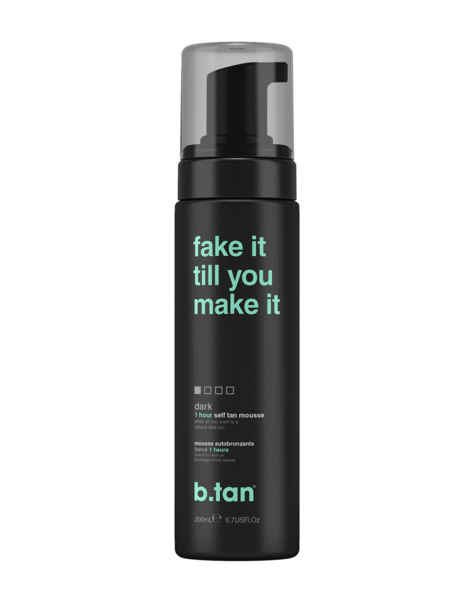 b.tan fake it till you make it... self tan mousse 6.7 fl oz / 200mL