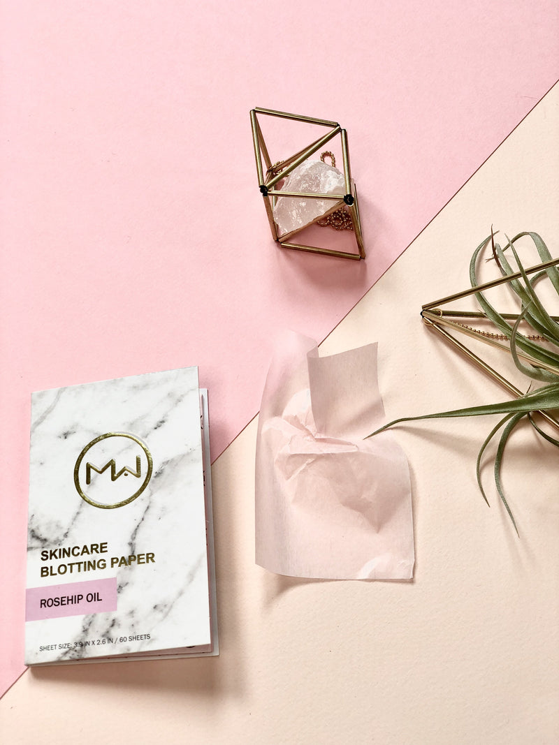 Mai Couture Rose Hip Oil Blotting Paper