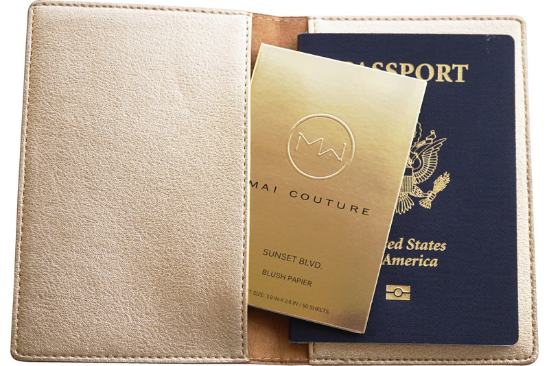 Mai Couture Passport/ Book Holder